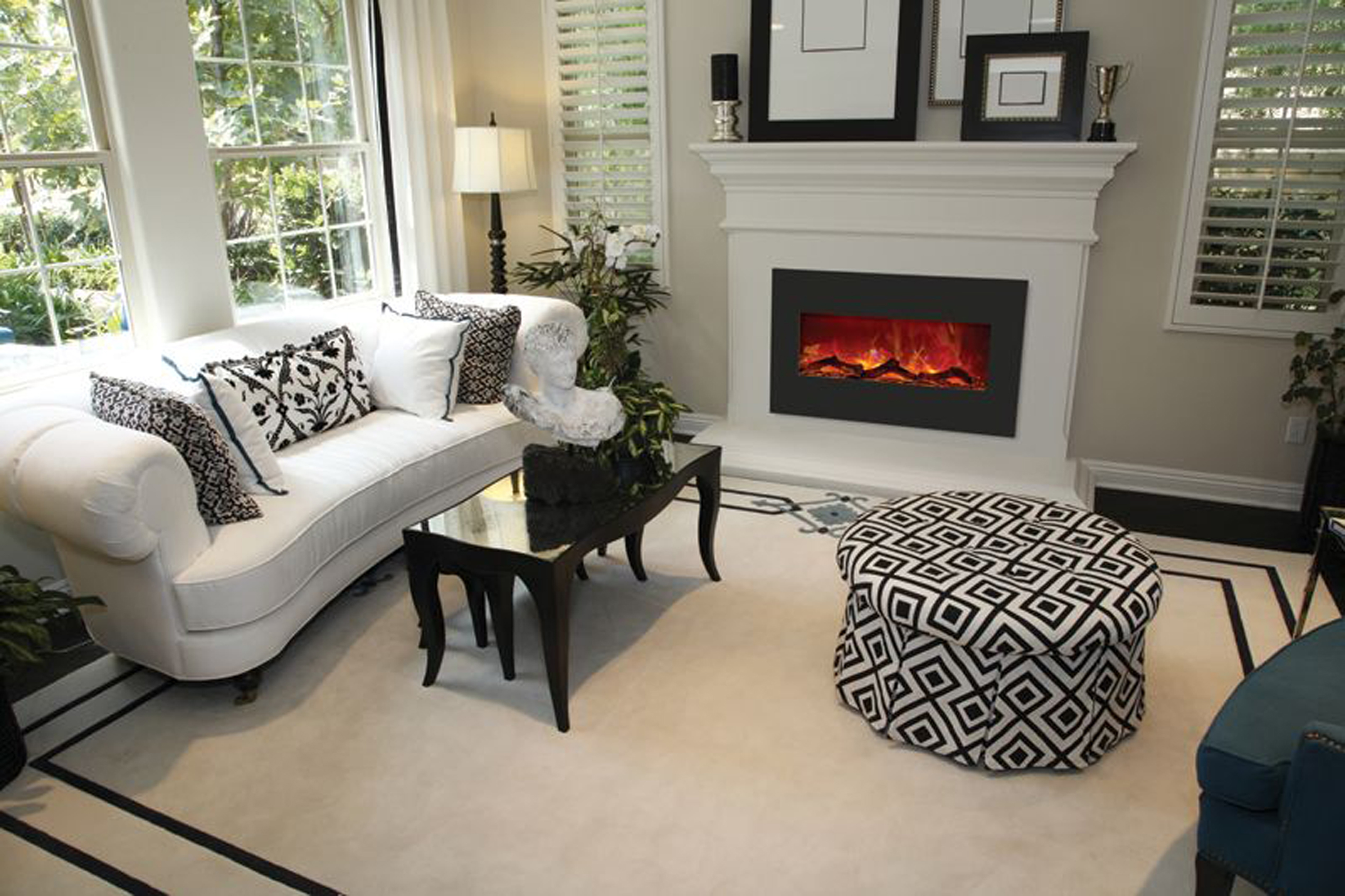 best electric fireplace under 200