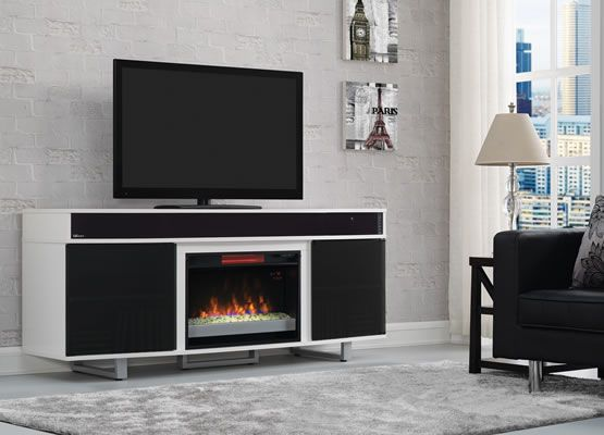 best electric fireplaces TV stand