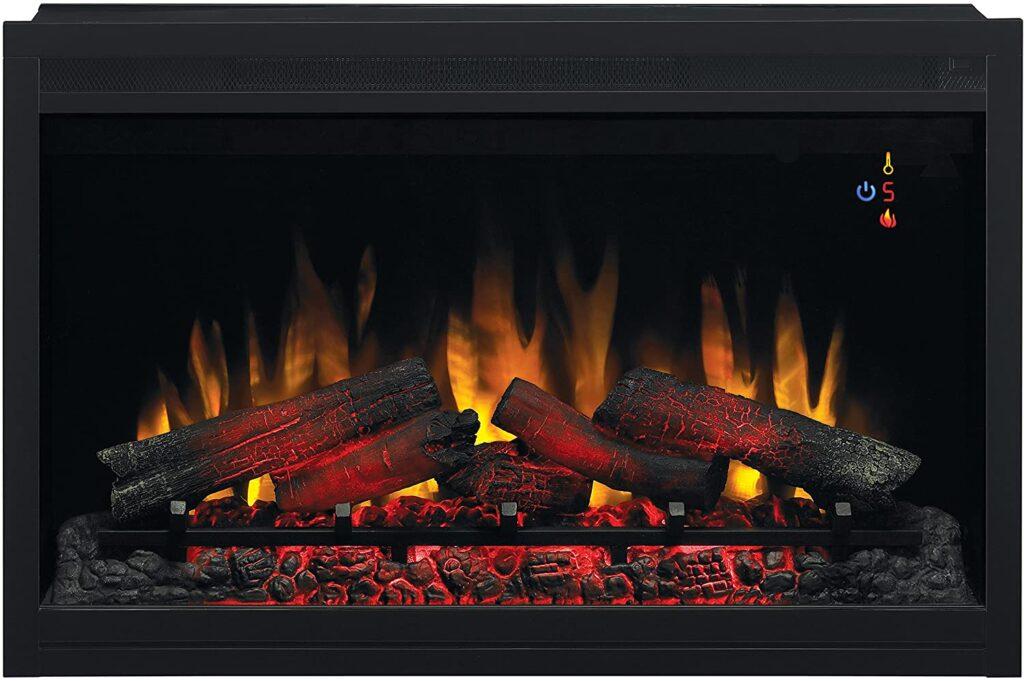 highest BTU electric fireplace insert