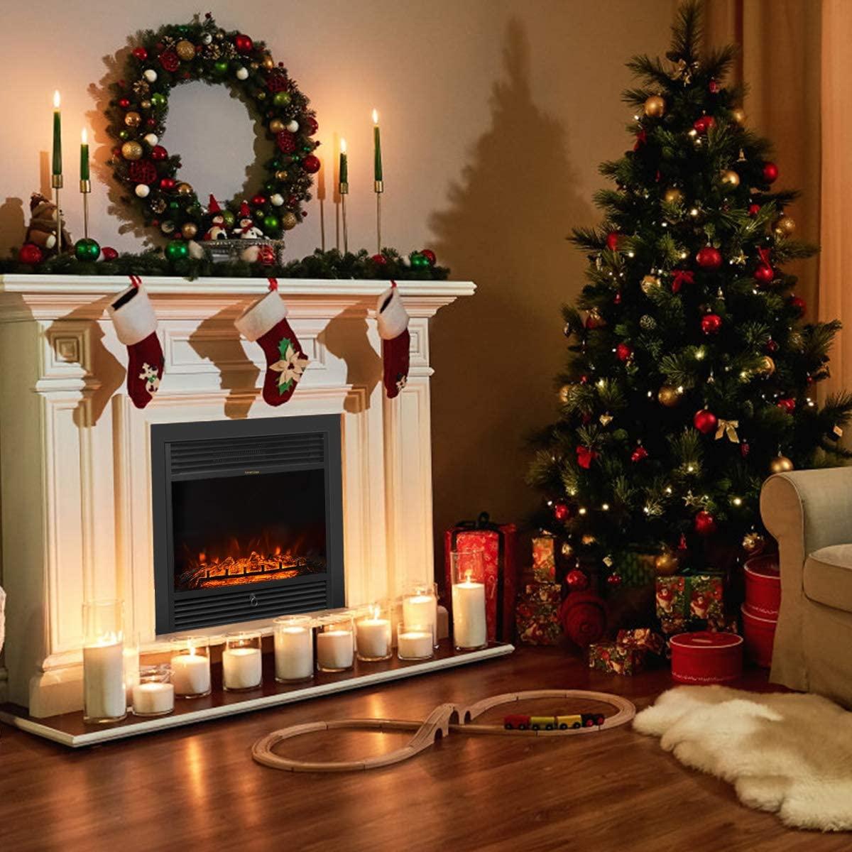highest BTU electric fireplace