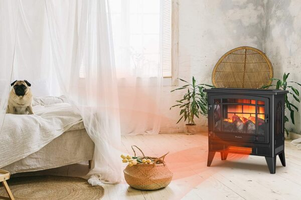 best freestanding electric fireplace