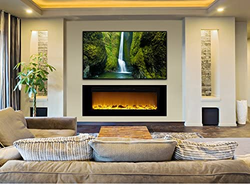 best recessed fireplace
