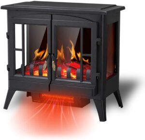small rv fireplace heater