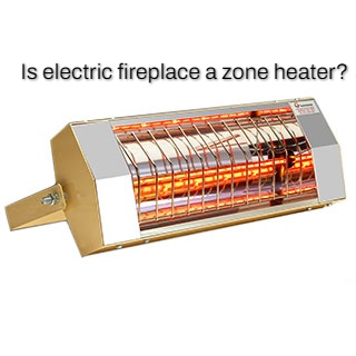 does electric fireplace produce heat