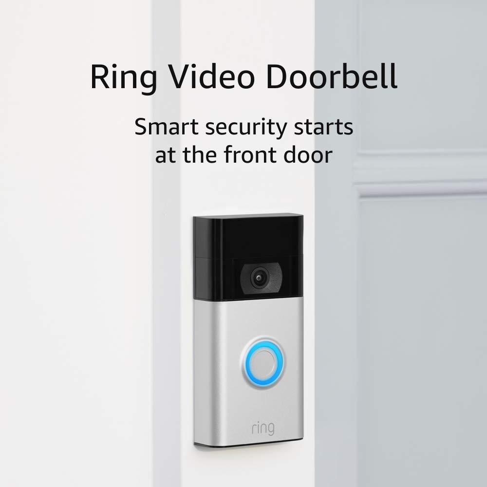 ring doorbell alarm system